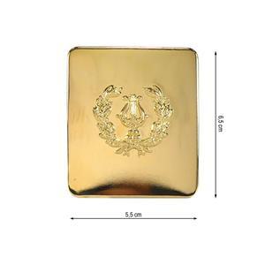 Hebilla lira 2puentes oro