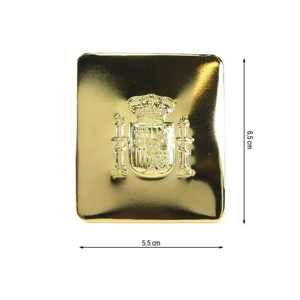Hebilla constitucion 32mm.oro