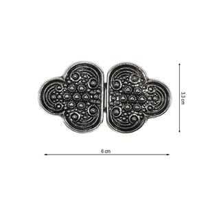 Broche metal trebol 25mm.ptvja
