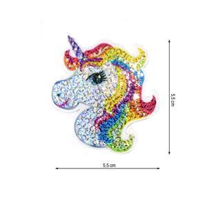 Parche termo unicornio lenteju