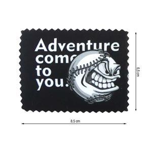 Parche termo adventure impreso