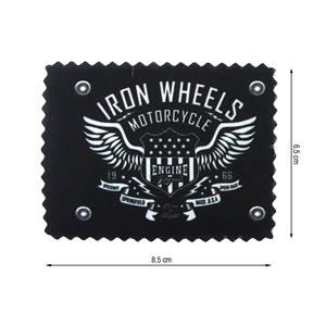 Parche termo iron wheels impre