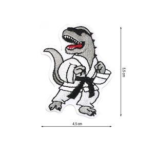 Parche termo dinosaurio karate