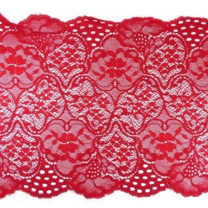 Entredos nylon elast.21cm.rojo