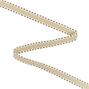 Cinta pespunte 15mm.tost+beig