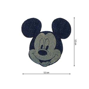 Parche denim mickey