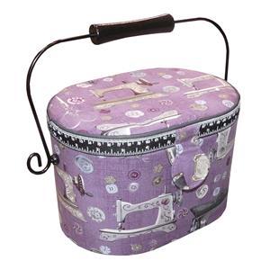 Costurero oval tapiz costura