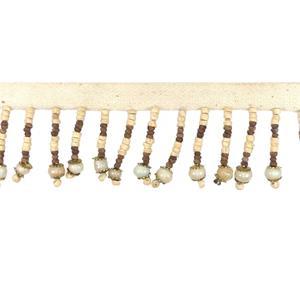 Fleco madera+perla 5cm.