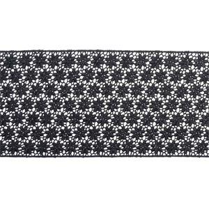 Entredos guipur 9cm.negro