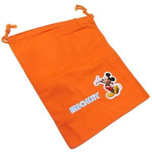 Bolsa merienda mickey naranja