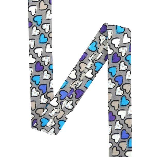 Bies termo flores azul 2x150cm