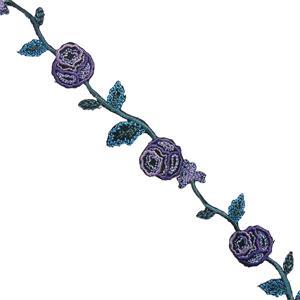 Tira flores termo lilas+turque