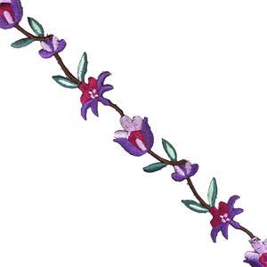 Tira flores termo lila+grana+v