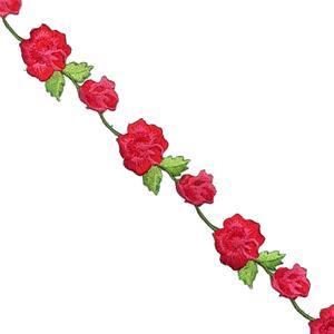 Tira flores termo rojo+verde