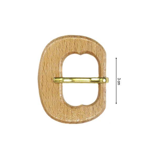 Hebilla madera 25mm.
