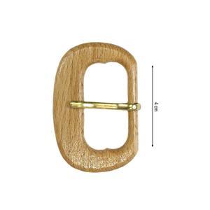 Hebilla madera 35mm.