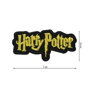 Parche termo harry potter oro