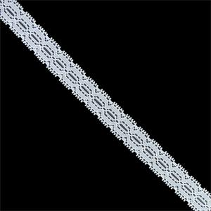 Entredos puntilla nylon blanco