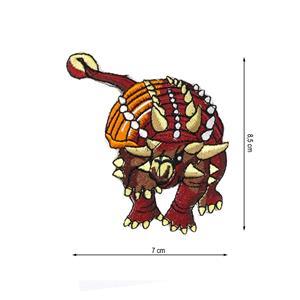 Parche termo dino ankilosaurus