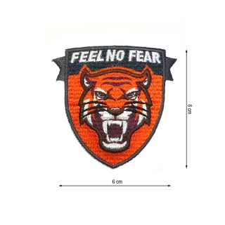 Parche termo feel no fear tigr