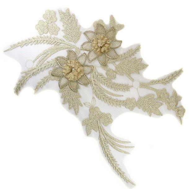 Aplicacion ramo flor oroclaro