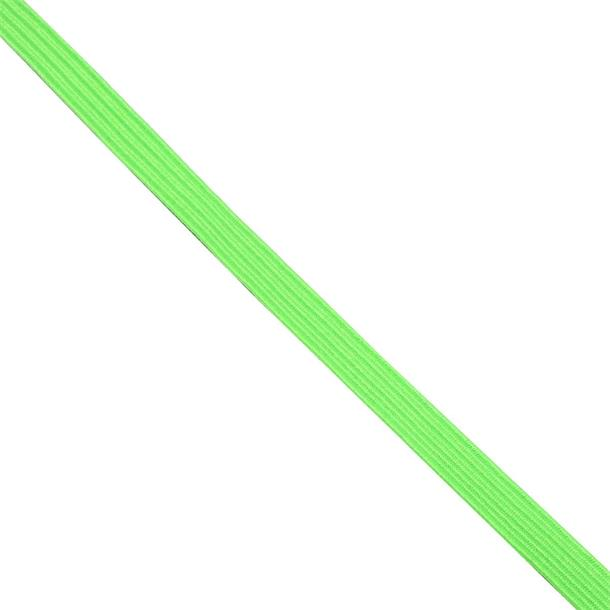 Cinta goma 8mm. fosfo.verde