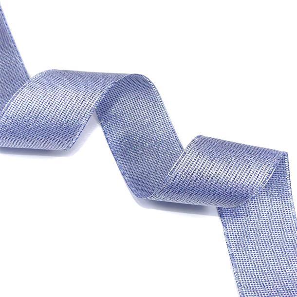 Cinta glitter dream 40mm.blue