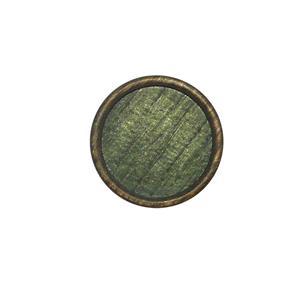 Boton imitravertino t/28 verde