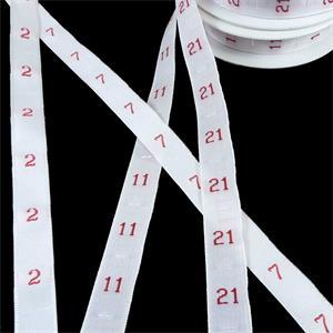Etiquetas coser numero 57