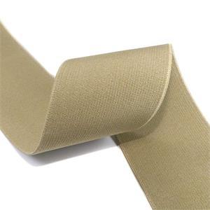 Cinta elastica 6cm. beig