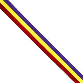 Cinta bandera republicana t/9
