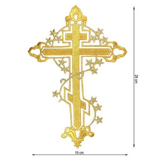 Aplicacion cruz+estrellas oro