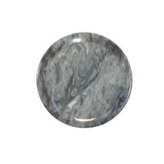 Boton marmoleado gris 58mm.