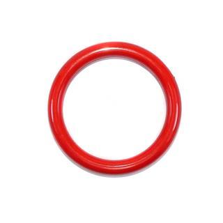 Anilla acril.rojo 5cm.interior