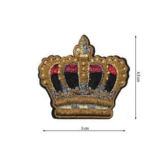 Parche termo corona orovj+rojo