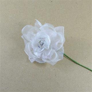 Flor gasa+lent+guipur marfil
