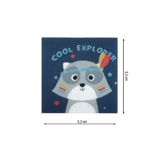 Parche tejido cool explorer