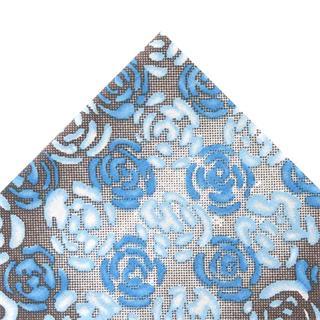 Tela popelin flor azul 50x45cm