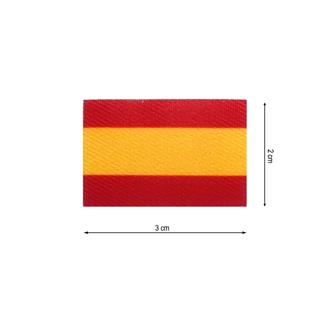 Parche tej.bandera españa 3x2