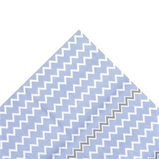 Tela popelin picos azul 50x45