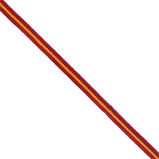 Goma suave 6mm.bandera españa