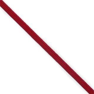 Goma suave 6mm. rojo
