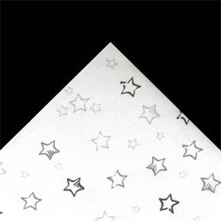 Tela popelin estrellas 50x45