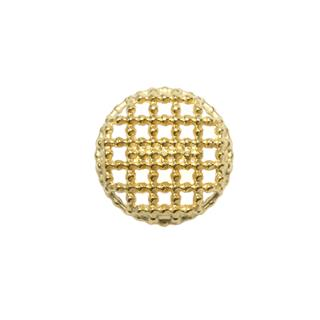 Boton metal calado bol.24 oro