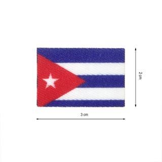 Parche tej.bandera cuba