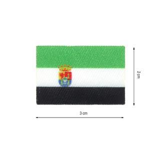 Parche tej.bandera extremadura
