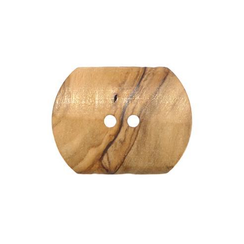 """Boton madera rectangular 24"""""""