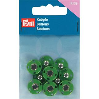 Broches presion 14mm.verde