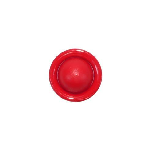 """Boton m/bola aro 18"""" rojo"""