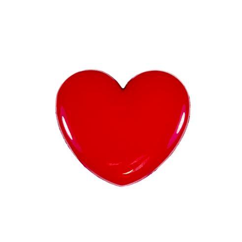"""Boton corazon 24"""" rojo"""